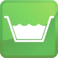 submersion bath icon