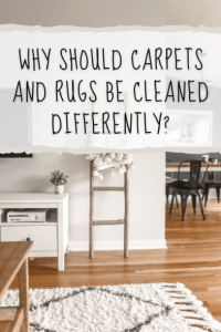 Why Should Carpets & Rugs Be Cleaned Differently?