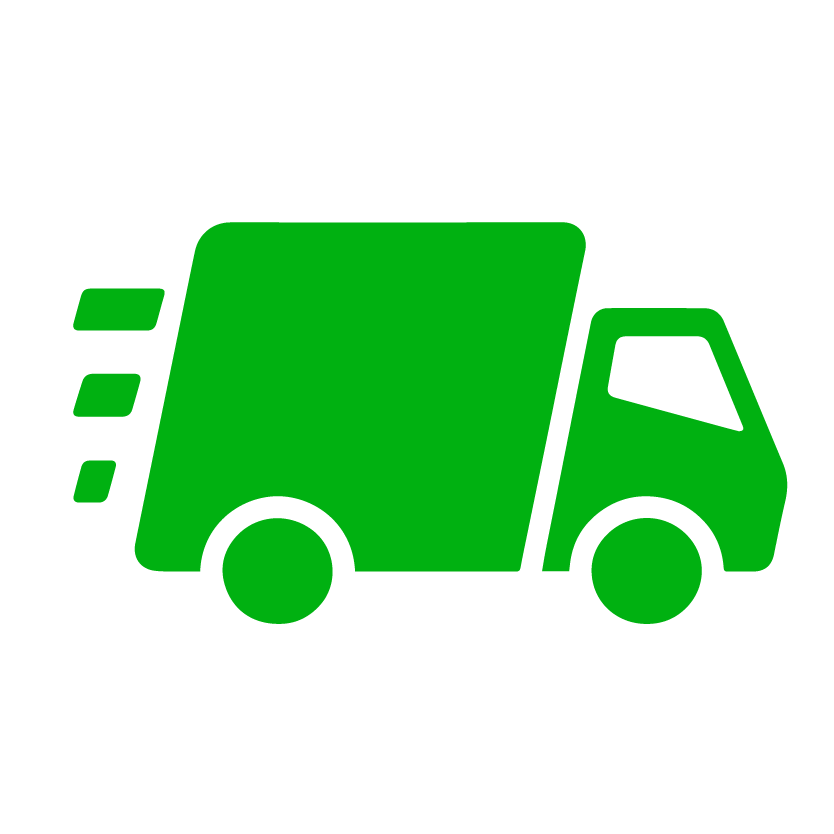 pick up and delivery icon