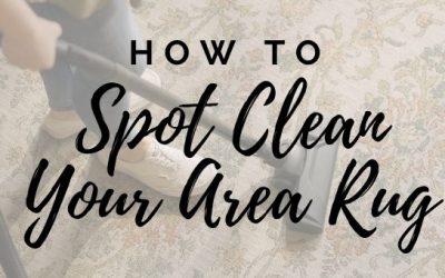 How to Spot Clean Your Area Rug